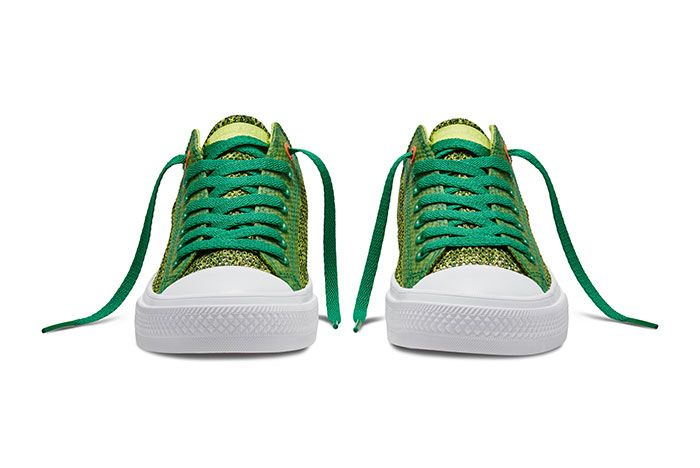 Converse Chuck Taylor All Star Low Open Knit Green 4