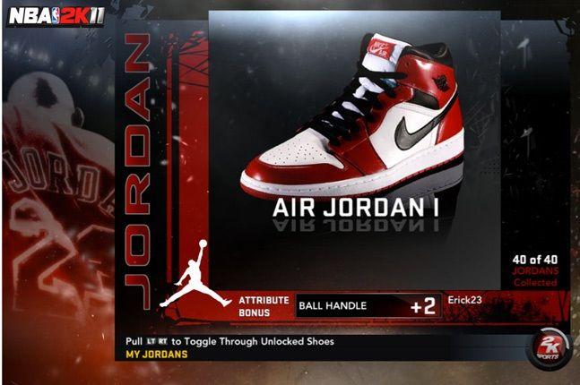 Jordan Nba 2K11 I 1