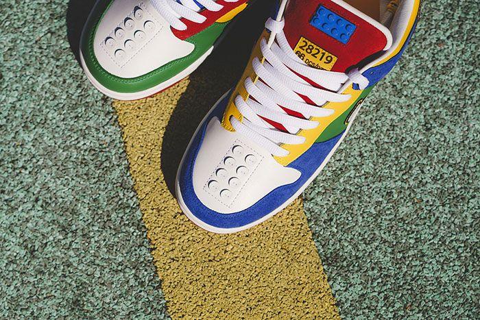 Bespokeind Nike Sb Dunk Low Pro Lego Release Date Toe