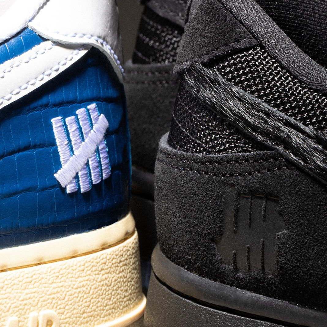 UNDEFEATED x Nike Dunk vs. AF-1 '5 On It' Second Drop