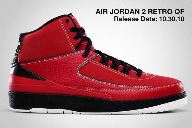 Air Jordan 2 Retro Qf Red 1