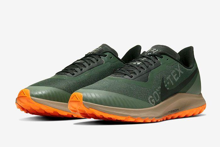 Nike Pegasus 36 Trail Gore Tex Bv7762 300 Front Angle