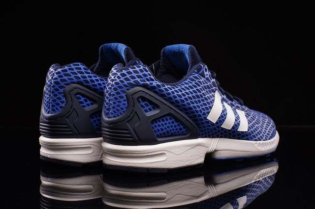 Adidas Zx Flux Techfit Blue Snake 1