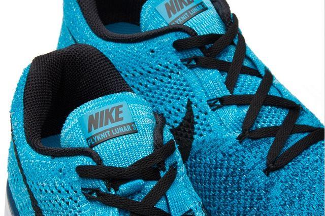 Nike Flyknit Lunar 3 Brave Blue 5