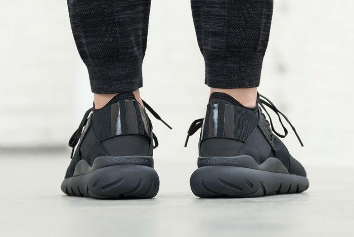 Adidas Y 3 Qasa Elle Lace Black Carbon5