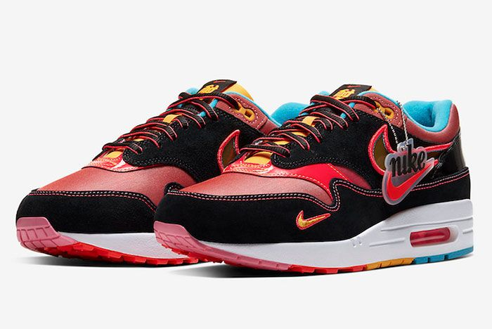 Nike Air Max 1 Chinese New Year Cu6645 001 Release Date 4Official