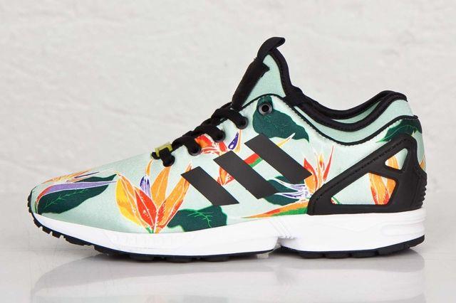 Adidas Zx Flux Nps Bird Paradise 1