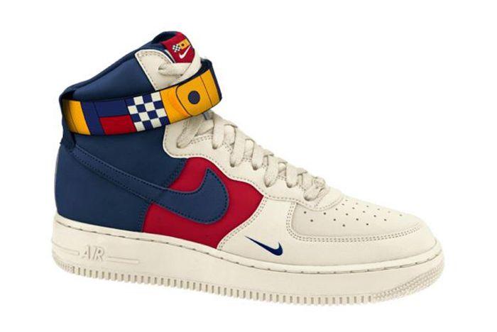 Nike Air Force 1 High 07 Lv8 Nautical Ar5395 100 Sneaker Freaker 1
