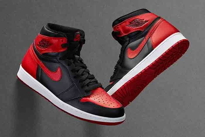 Air Jordan 1 High Retro 2016 Bredfeature