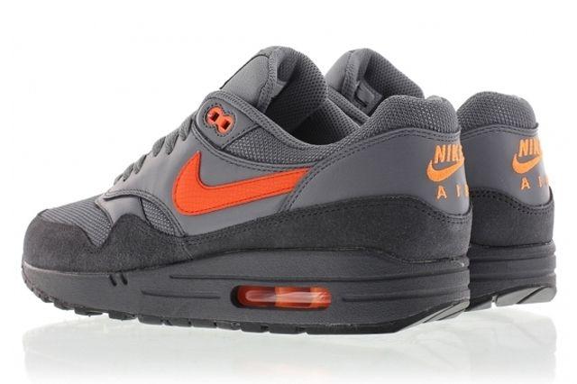 Nike Air Max 1 Fb Grey Orange 2