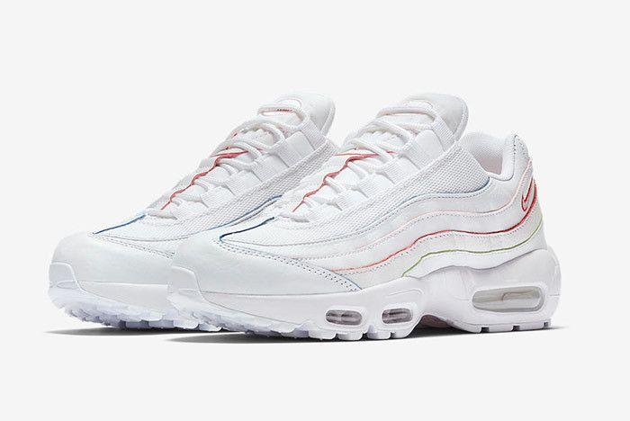 Nike Air Max 95 White Rainbow 1