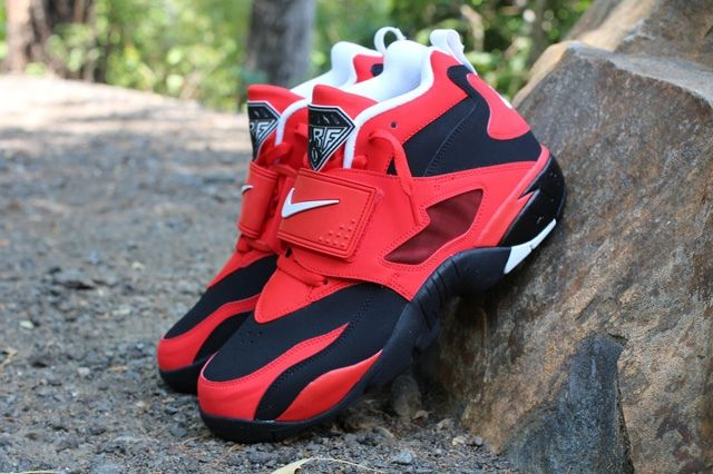 Nike Air Diamond Turf Red Profile Elevated