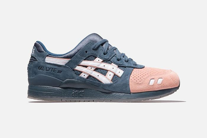 Ronnie Fieg Asics Japan Gel Lyte Iii Salmon Toe 2 0