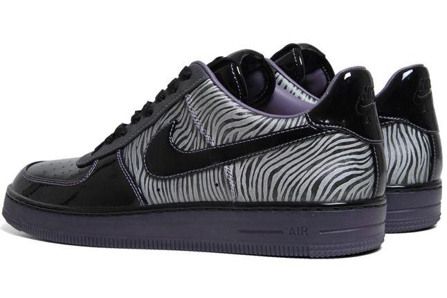 Nike Air Force 1 Downtown Qs Zebra Quater Heels 1