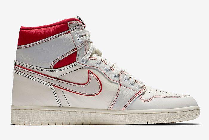 Air Jordan 1 Sail University Red 555088 160 Release Date Price 2