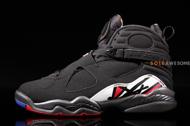 Air Jordan 8 Playoffs Side 1