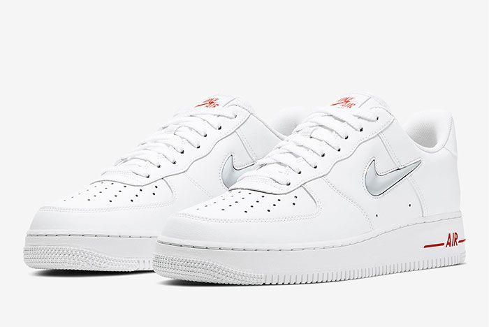 Nike Air Force 1 Low Jewel White Toe