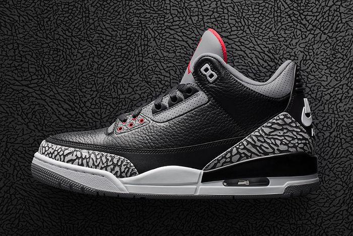 Air Jordan 3 Black Cement 7