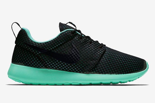 Nike Roshe Run Prm Green Glow1