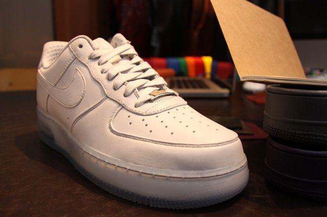 Nike Af1 White White 1