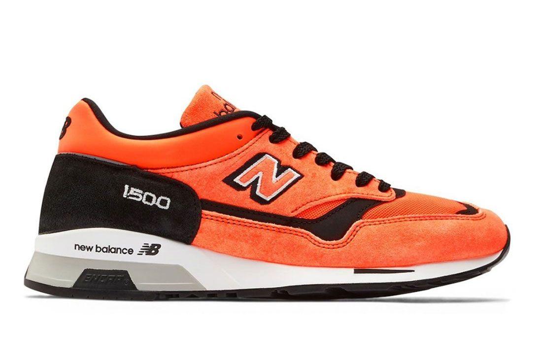 Neon Orange Highlights the New Balance 1500 - Sneaker Freaker