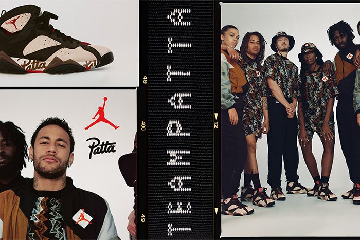 Patta Air Jordan 7 Collaboration Release Date Info Neymar Hero