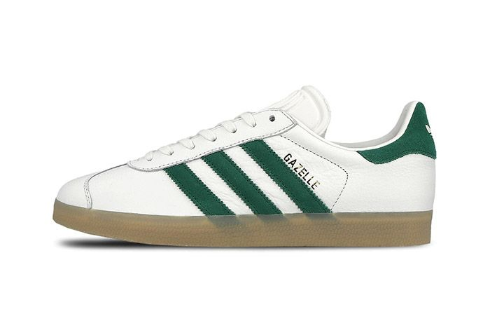 Adidas Gazelle White Green Gum 4
