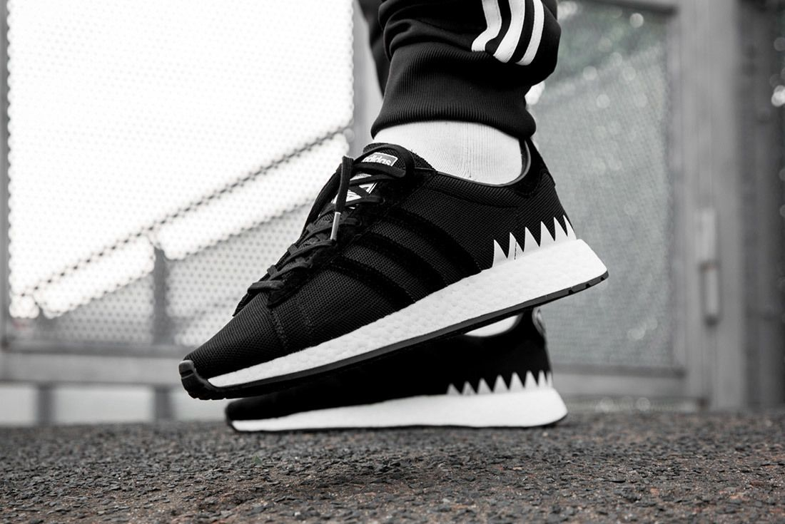 Neighborhood X Adidas Gazelle Nmd R1 On Foot Sneaker Freaker 3