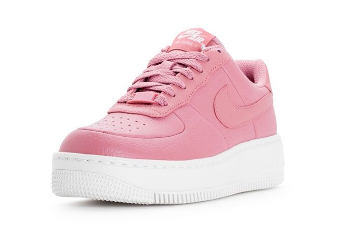 Nike Wmns Air Force 1 Upstep Red Stardust 3