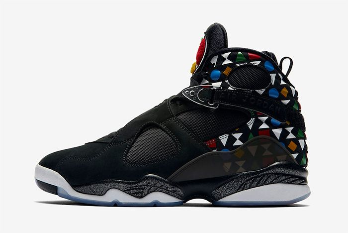 Air Jordan 8 Quai 54 Release Date Left