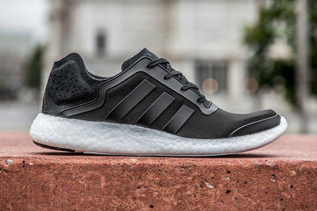 Adidas Pure Boost Black White 2