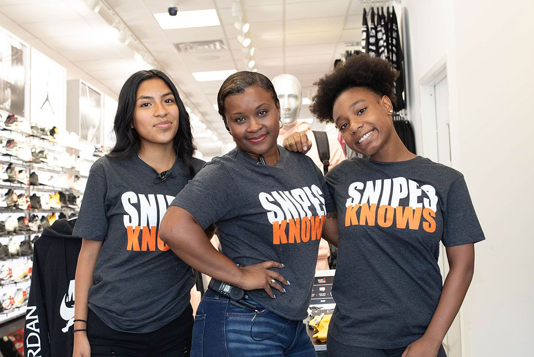 Snipes Store Opening Brooklyn People Shot7