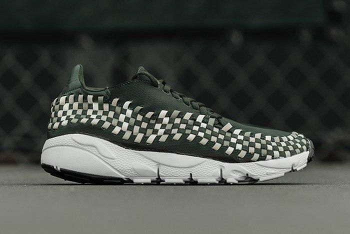 Nike Air Footscape Woven Sequoia Green 3