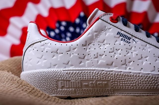 Puma Basket Independence Day Pack White 3