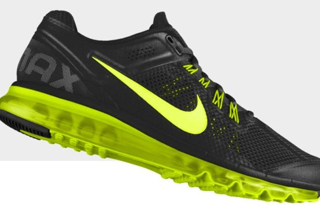 Nikeid Air Max Black Volt Profile 1