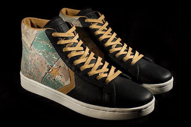 Stussy New York Converse First String Pro Leather Pair 1