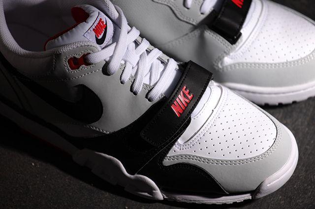 Nike Air Trainer 1 Low White Black Red B8