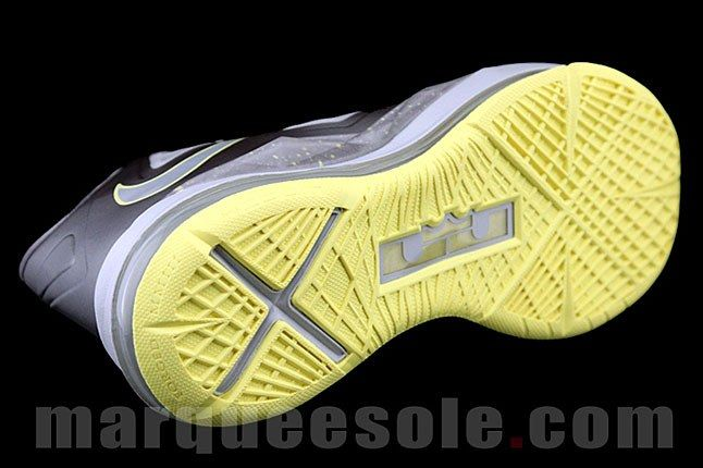 Lebron James Canary Yellow Sneaker 1