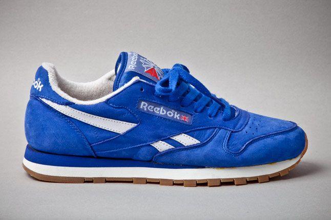 Reebok Classic Leather Vintage Union Blue Profile 1