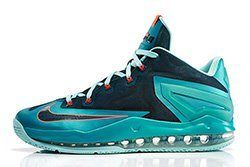 Nike Lebron 11 Max Low Turbo Green Thumb