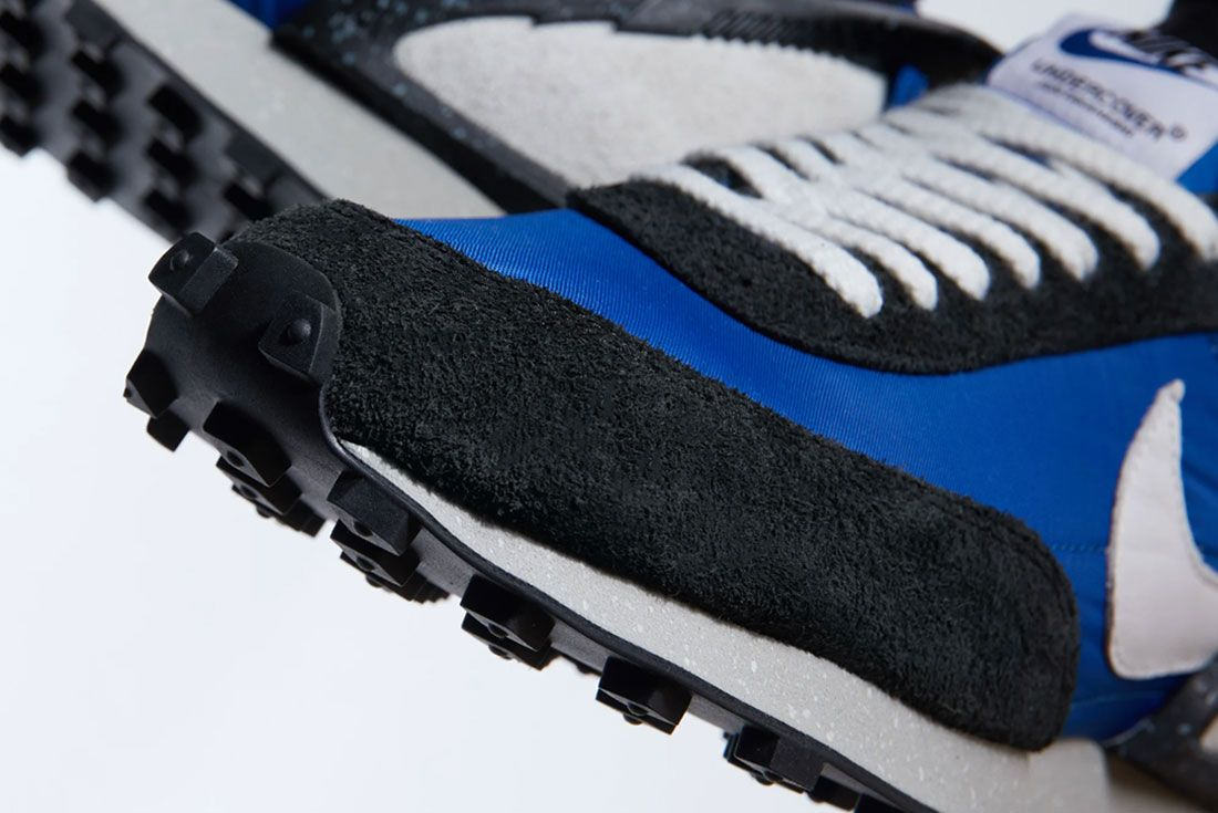Undercover X Nike Daybreak Closeup Toebox Shot