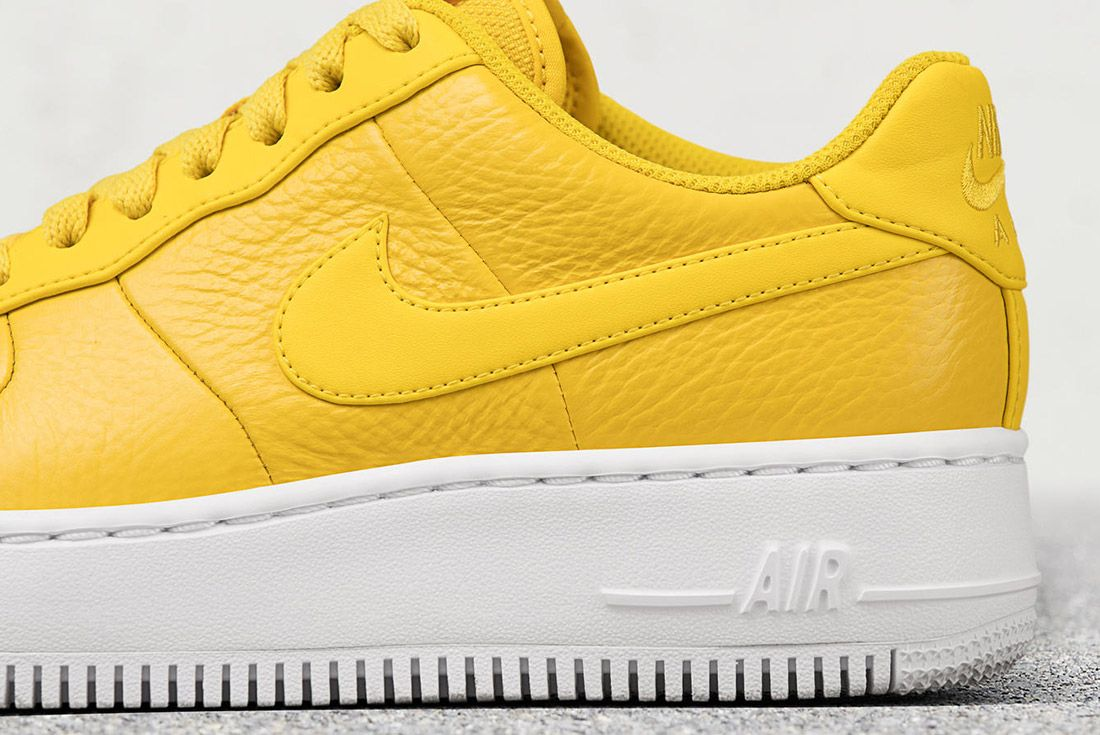 Nike Air Force 1 Upstep Bread Butter 6