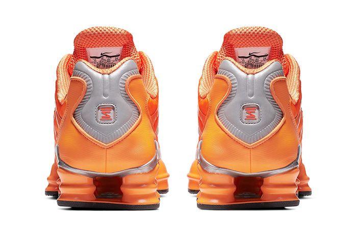 Nike Shox Tl Orange Release Date Heel