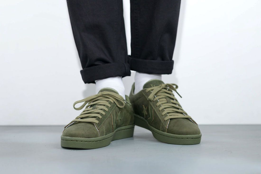 Converse Cons Pro Leather 76 Ox ' Autumn Mono' Pack 4