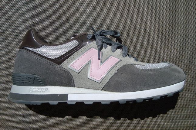 New Balance Grey Suede 1