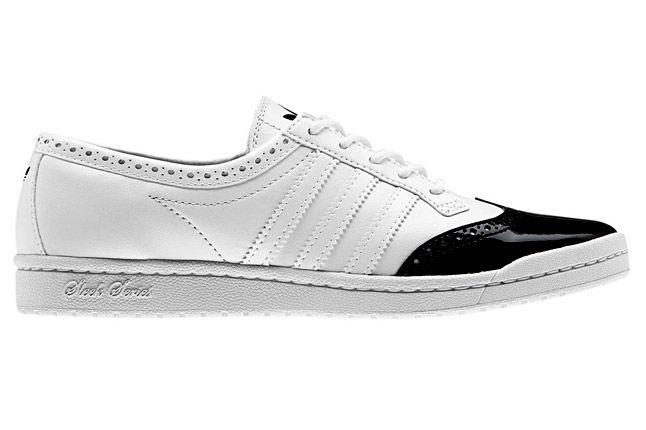 Adidas Top Ten Low Sleek Brogue White Profile 1