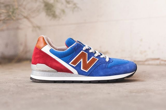 New Balance 996 Brown Blue 6