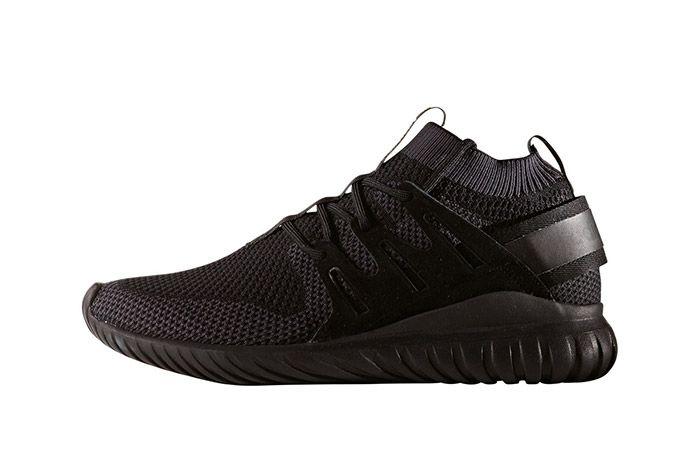 Adidas Tubular Nova Primeknit Triple Black 4
