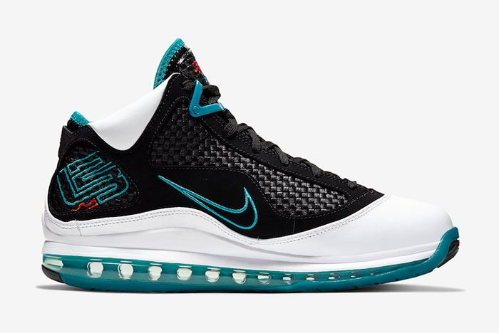 Nike Le Bron 7 Red Carpet Cu5133 100 2019 Retro Release Date 2Side