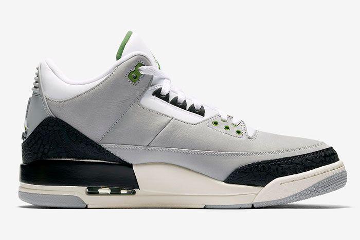 Air Jordan 3 Tinker Chlorophyll 136064 006 Release Date 2 Sneaker Freaker
